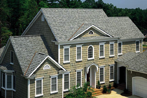 A CertainTeed residential roof